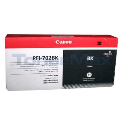 CANON PFI-702 INK TANK BLACK 700ML